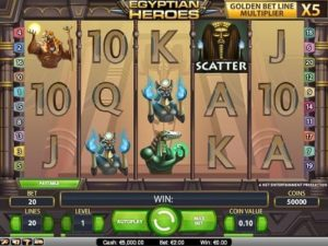 Egyptian Heroes slot machine