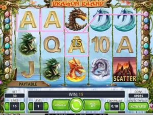 slot machine dragon island