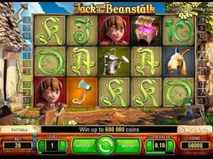Jack & the Beanstalk slot machine
