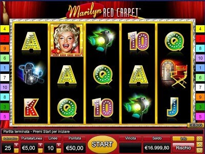 Marylin Red Carpet slot machine gratis