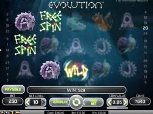 Evolution slot machine gratis con bonus