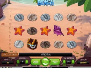 beach slot machine con bonus