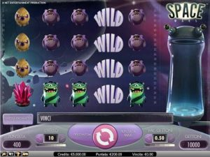 Space Wars slot machine gratis con bonus