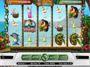 Tiki Wonders slot machine con bonus