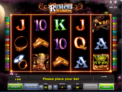 Rumpel Wildspins slot machine