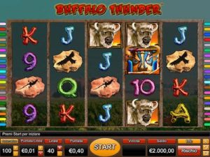 Buffalo Thunder slot machine