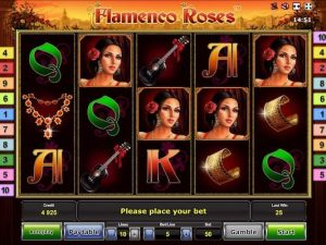 Flamenco Roses slot machine